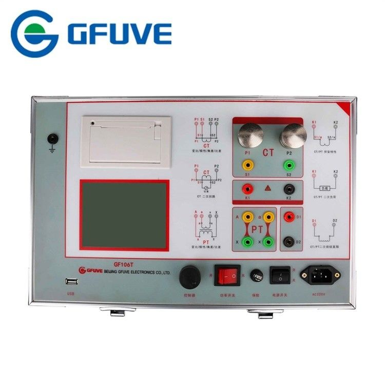 Portable Instrument Current Transformer Calibration Device With Turn Ratio 5000/1 To 25000/5A
