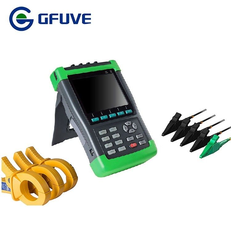 6.5 Inch TFT LCD Display 3 Phase Power Analyzer With 6000a Current Probe